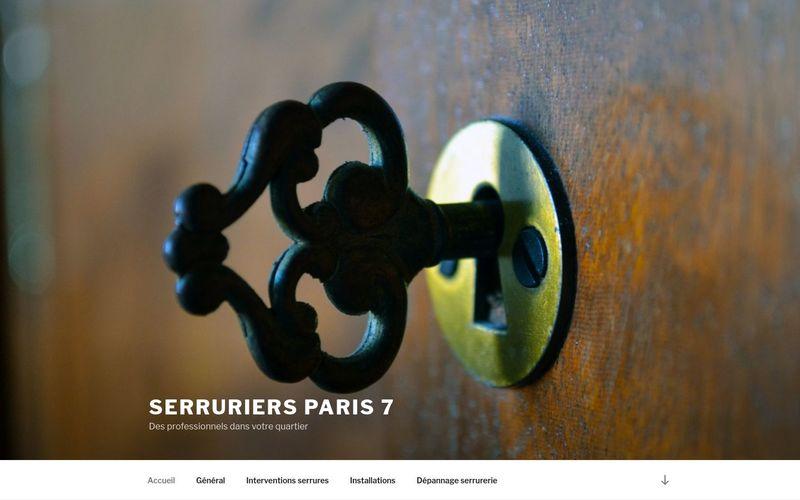 Serruriers Paris 7 - Des professionnels dans votre quartier